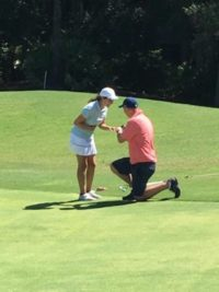 Golf Engagement1
